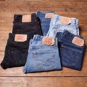 Vintage Levi's 501 High Waist wedgie fit Jeans